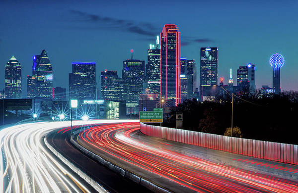 Photograph - Dallas Skyline 042418 by Rospotte Photography