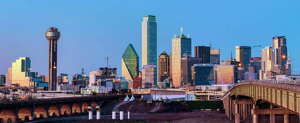 Photograph - Dallas Skyline 061719 by Rospotte Photography