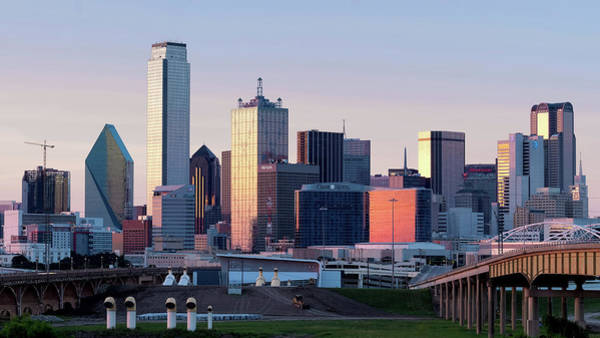 Photograph - Dallas Skyline 071619 by Rospotte Photography