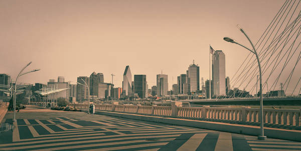 Photograph - Dallas Texas Bridge View by Dan Sproul