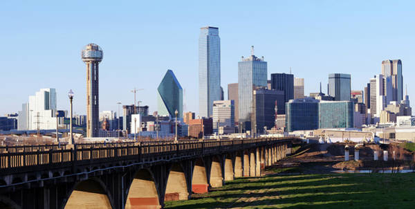Photograph - Dallas Texas Skyline 040219 by Rospotte Photography