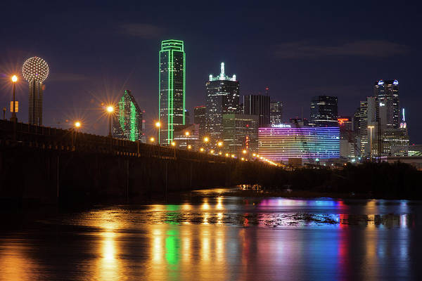 Photograph - Dallas Texas Skyline 041019 by Rospotte Photography