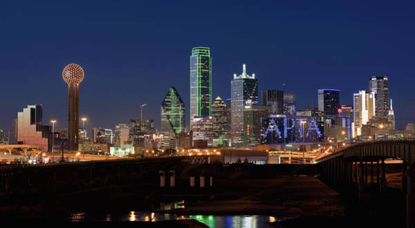 Photograph - Dallas Texas Skyline 071219 by Rospotte Photography
