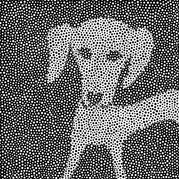 Digital Art - Dalma-dach Dots by Becky Titus