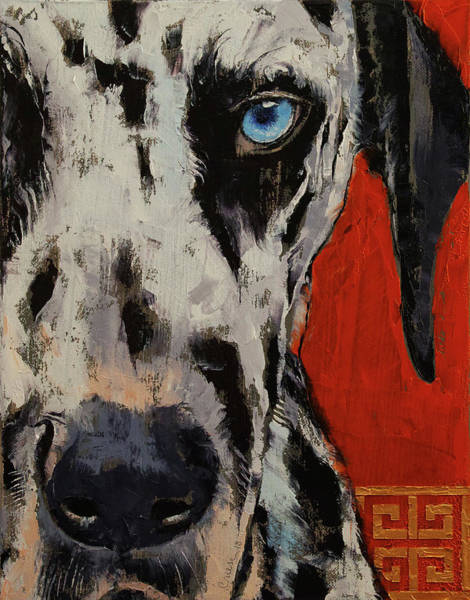 Hund Wall Art - Painting - Dalmatian by Michael Creese