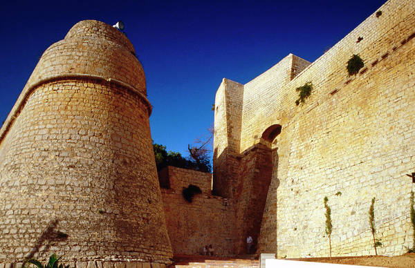 Roman Wall Photograph - Dalt Vila, The Old Walled Town In by Lonely Planet