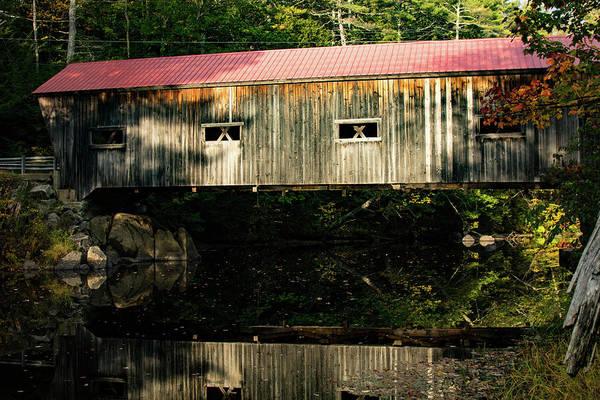 Photograph - Dalton Covered Bridge by Jeff Folger