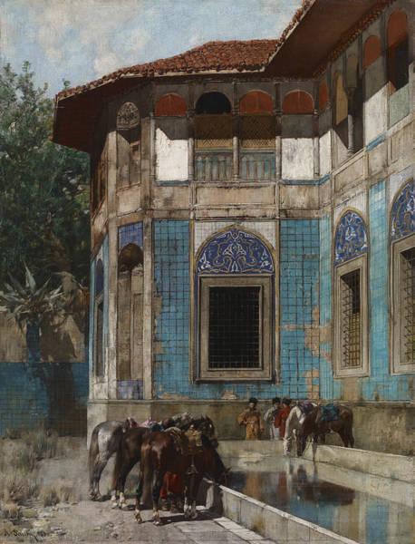 Wall Art - Painting - Damascus by Alberto Pasini