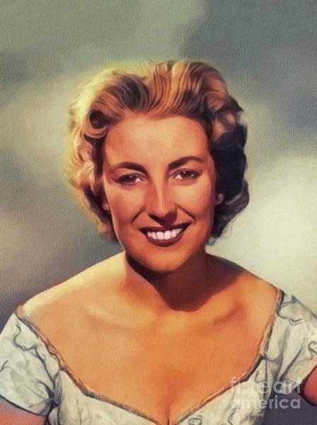 Lynn Wall Art - Painting - Dame Vera Lynn, Music Legend by John Springfield