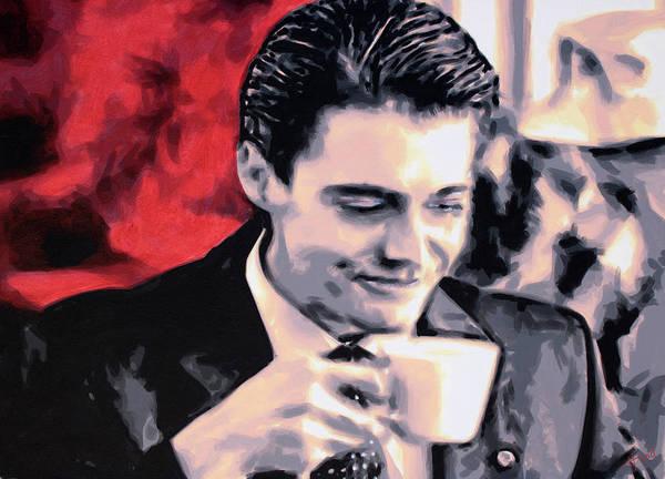 Ludzska Wall Art - Painting - Damn Fine Cup Of Coffee by Sarah Hood