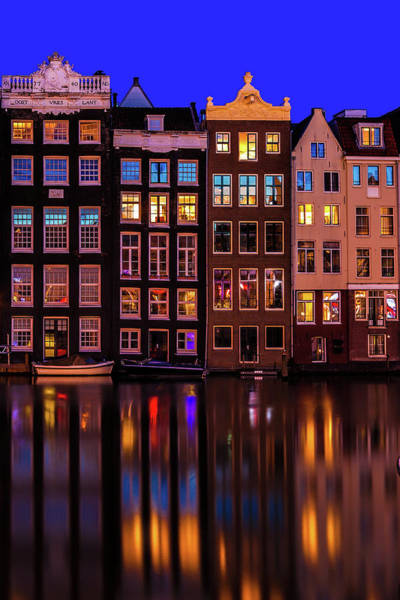 Wall Art - Photograph - Damrak Amsterdam by Andrew Soundarajan