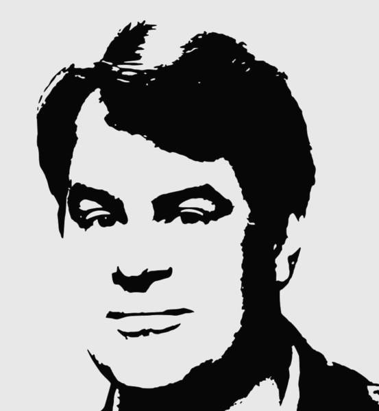 Wall Art - Digital Art - Dan Aykroyd Minimalistic Pop Art by Filip Hellman