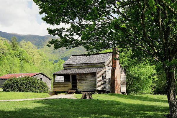 Photograph - Dan Lawson Cabin by Nicholas Blackwell
