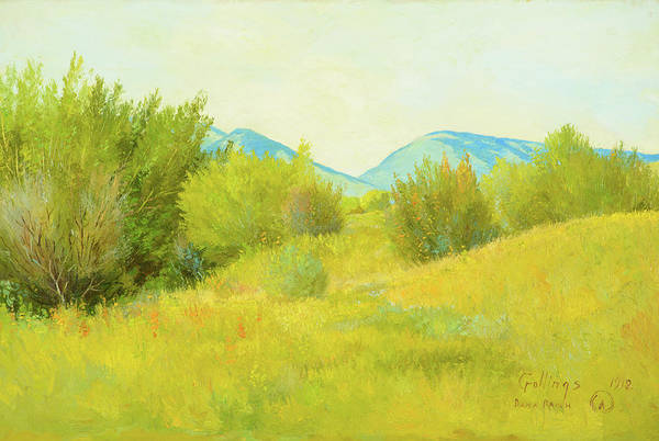Wall Art - Painting - Dana Ranch, 1912 by E William Gollings