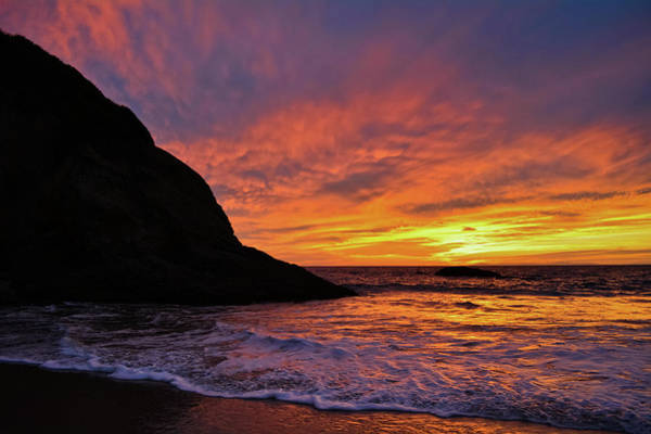 Photograph - Dana Strand Beach Sunset by Kyle Hanson