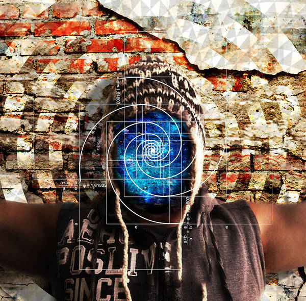 Shaman Digital Art - D.a.n.c.e .  O.f .  I.n.f.i.n.i.t.y by J  - O   N    E - 1