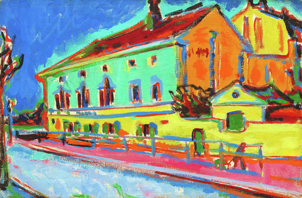 Wall Art - Painting - Dance Hall Bellevue - Digital Remastered Edition by Ernst Ludwig Kirchner