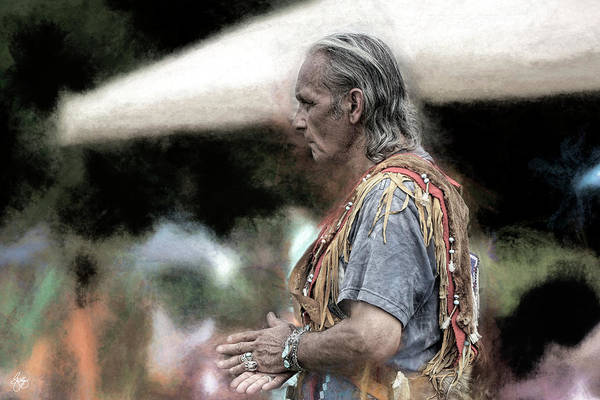 Photograph - Dance Of The Woodland Elder by Wayne King