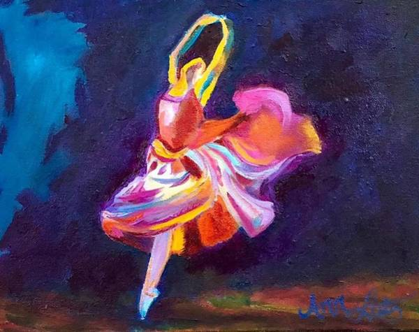 Wall Art - Painting - Dance The Night Away by Ann Lutz
