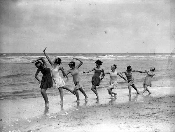 Belgium Photograph - Dance Troupe by Fox Photos