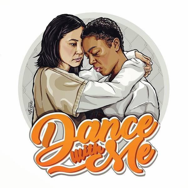 Wall Art - Digital Art - Dance With Me by Geek N Rock