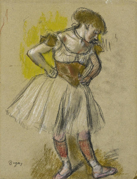 Drawing - Dancer 2 by Edgar Degas