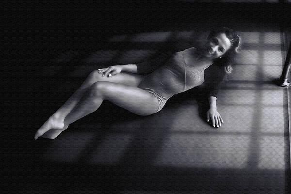 Photograph - Dancer In Shadows by Dan Friend