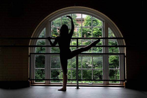 Photograph - Dancer In Studio by Dan Friend