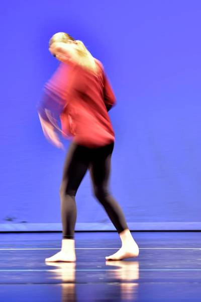 Photograph - Dancer Leaving Stage Left by Jerry Sodorff
