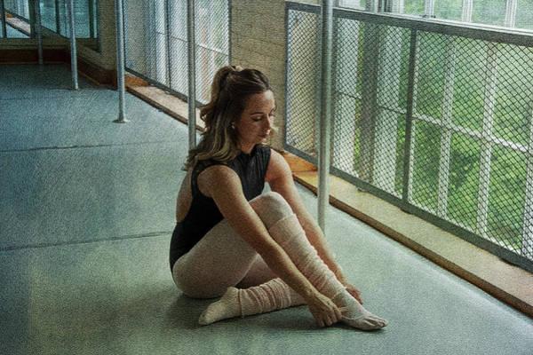 Photograph - Dancer Mood Window Light by Dan Friend