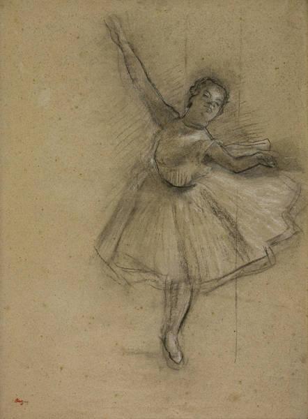 Drawing - Dancer Turning by Edgar Degas