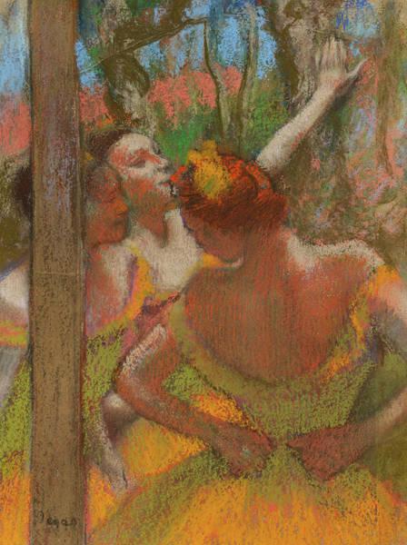 Wall Art - Painting - Dancers, C. 1896 by Edgar Degas