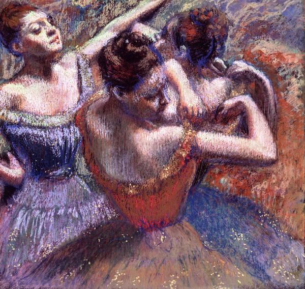 Wall Art - Painting - Dancers, Circa 1899 by Edgar Degas