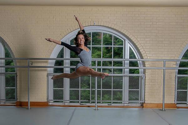 Photograph - Dancers Jump by Dan Friend