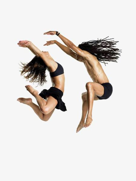 Adult Male Photograph - Dancers Jumping by Image Source