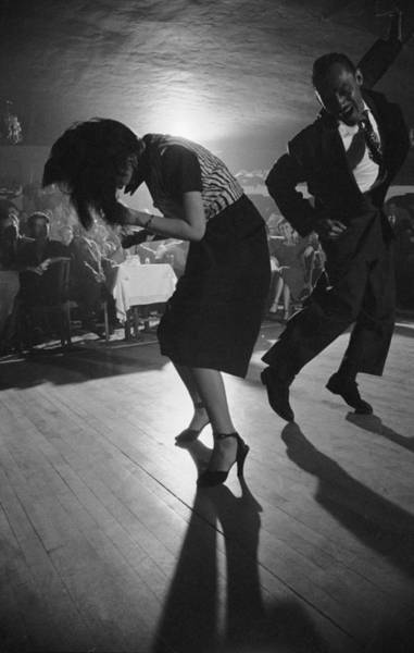 Dancing Photograph - Dancing At Club Zarape by Loomis Dean