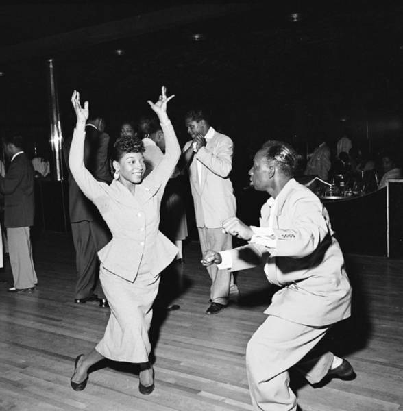 Dancing Photograph - Dancing At The Savoy Ballroom by Graphic House