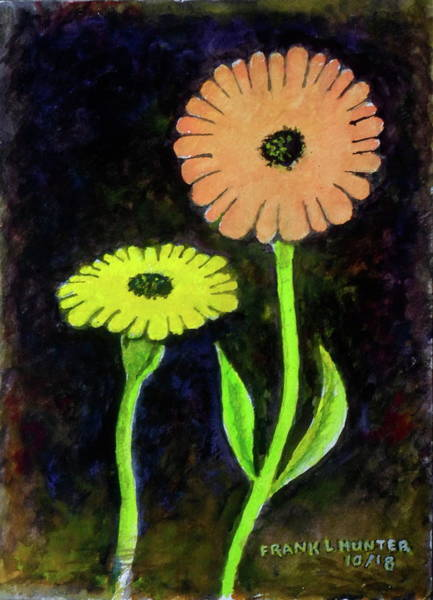 Painting - Dancing Daisies by Frank Hunter