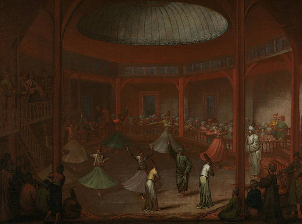 Painting - Dancing Dervish by Jean Baptiste Vanmour