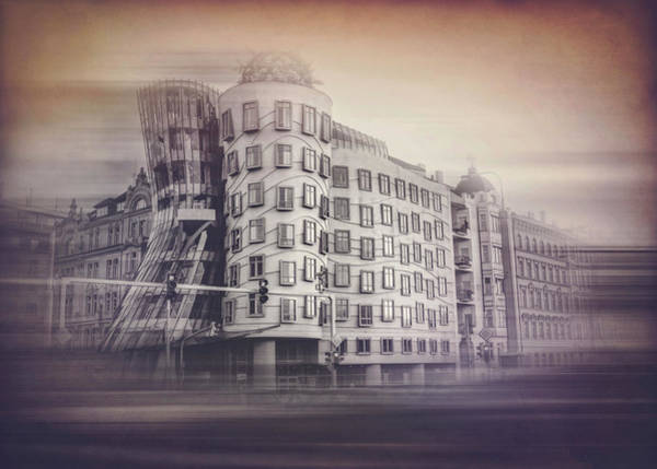 Praha Wall Art - Photograph - Dancing House Prague Czech Republic  by Carol Japp