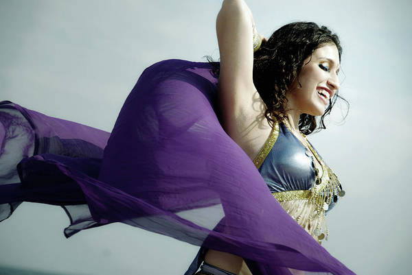 Belly Dancers Photograph - Dancing In The City by Srosh Anwar Photography