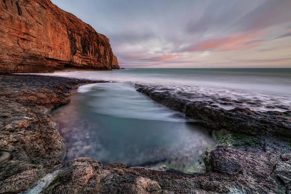 Channel Isles Photograph - Dancing Ledge - England by Joana Kruse