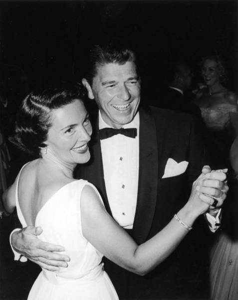 Ronald Reagan Photograph - Dancing Ronnie by Jack Albin