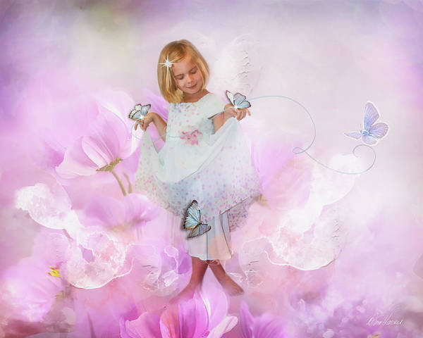 Photograph - Dancing With Butterflies by Diana Haronis
