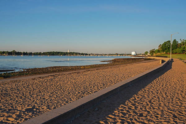 Photograph - Dane Street Beach In Beverly Ma Morning Light by Toby McGuire
