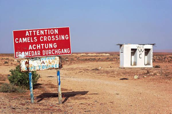 Tunisia Photograph - Dangerous Toilet by Umberto Berzano