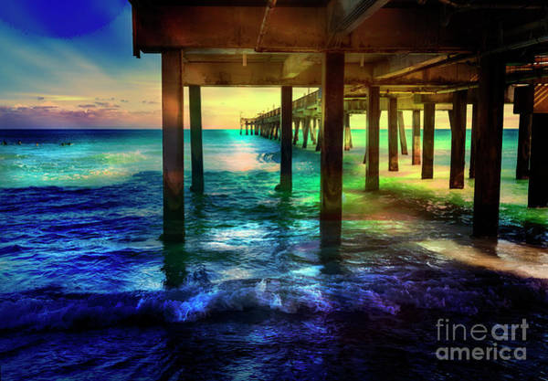 Photograph - Dania Beach Pier Series 8228 by Carlos Diaz
