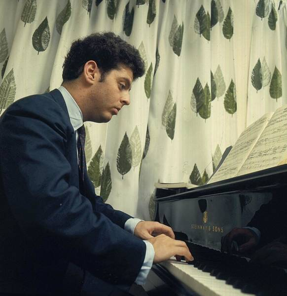 Piano Photograph - Daniel Barenboim At The Piano by Popperfoto
