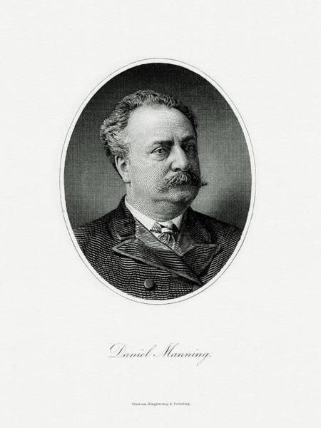Matter Painting - Daniel Manning by The Bureau of Engraving and Printing