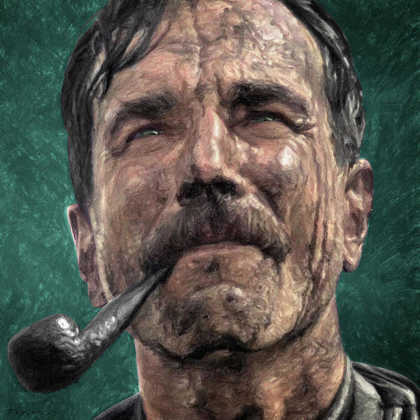 Wall Art - Painting - Daniel Plainview by Zapista Zapista